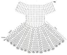Fabulous Crochet a Little Black Crochet Dress Ideas. Georgeous Crochet a Little Black Crochet Dress Ideas. Crochet Baby Dress Pattern, Crochet Doll Dress, Black Crochet Dress, Crochet Fabric, Baby Girl Crochet, Crochet Baby Clothes, Baby Knitting Patterns, Vintage Crochet Dresses, Crochet Patterns