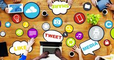 Don't dismiss the value and potential of social media in eLearning. The Role of Social Media in eLearning! Social Marketing, Marketing Online, Digital Marketing Services, Content Marketing, Internet Marketing, Inbound Marketing, Marketing Strategies, Business Marketing, Marketing Ideas