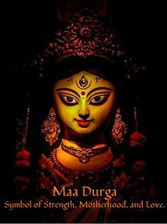 Durga:Symbol of Strength, Motherhood, and Love.