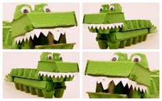 This is a fun activity to do with your children on a rainy or sunny day! Make a crocodile out of egg cartons. All of the details and instructions are on Mocka's website under media/blog. It's fun and you can also teach them about recycling and upcycling while you are making it.