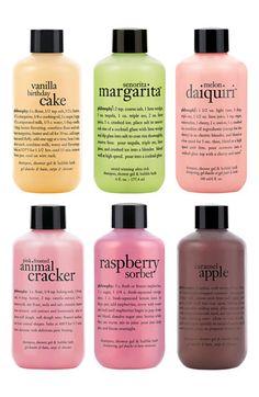 Philosophy Shampoo, Shower Gel + Bubble Bath Set http://www.theperfectpaletteshop.com/#!bridesmaid-gifts/c1q5k