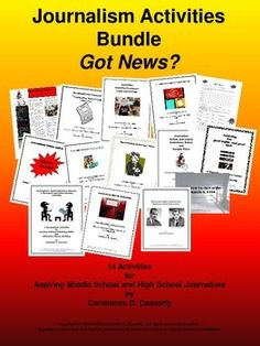journalism newspaper writing assignments