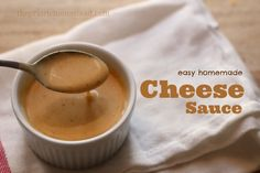 Easy Cheese Sauce–From Scratch! | The Prairie Homestead