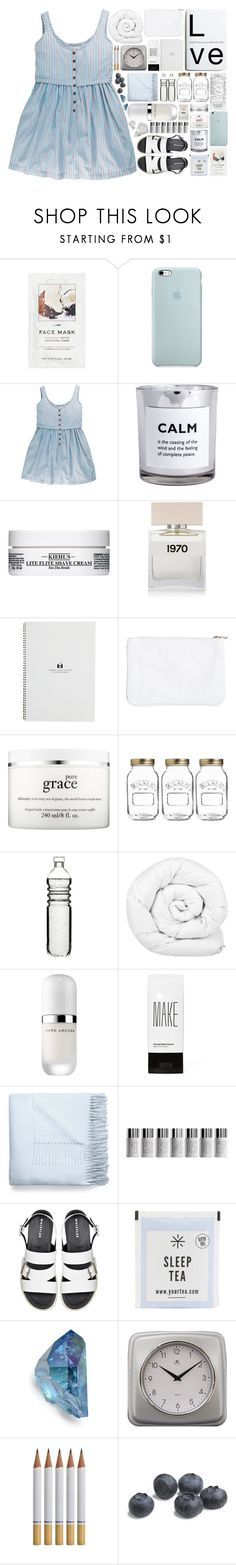 """""""I've loved and I've lost."""" by entirely-simple ❤ liked on Polyvore featuring H&M, Kiehl's, Bella Freud, philosophy, Kilner, Dot & Bo, Brinkhaus, Marc Jacobs, Make and Acne Studios"""