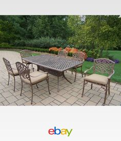 langdon 4pc acacia wood patio chat set with cushions brown