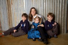 """""""Happy Family <3"""" Professional Family Photography by Portrait Creations photography studio located in Charlotte, NC."""