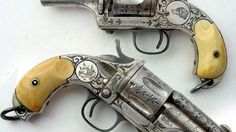 A Little Refinement: 1873 Presentation Revolvers www.facebook.com/BecauseWeLiveHereUSA