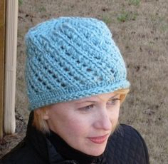 Girls Light Blue Hat, Blue Cap, Blue Hat, Free Shipping by lovemyknits on Etsy