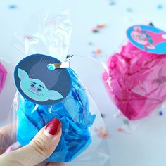 Trolls gift tags and free printables!