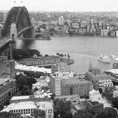 Sydney Harbour #sydney_insta #sydneyharbour #sydneyharbourbridge #blackandwhite #exploreandexperience by justin_back_70 http://ift.tt/1NRMbNv