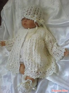 Baby Sweater free crochet graph pattern