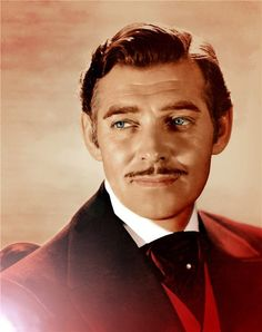 """Clark Gable looking so handsome as Rhett Butler in """"Gone with the Wind"""", 1939."""