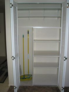 Pantry & broom closet