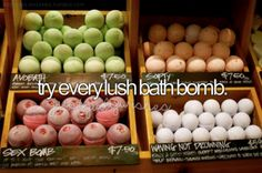 Never tried any bath bombs before though