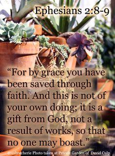 Living Free | Thoughtful Thursday: Ephesians 2:8-9