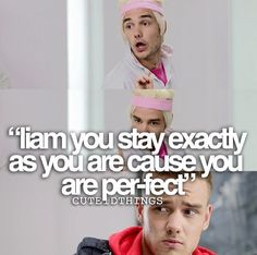 Watched the video and it is per-fect.                 One Direction Infection