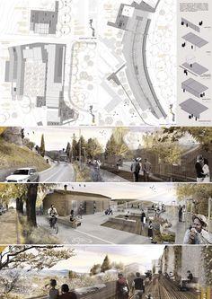 Riqualificazione urbanistica e paesaggistica fascia periurbana ad ovest delle…