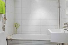 white tile bathroom walls - Google Search