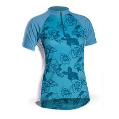 Bontrager Solstice WSD Short Sleeve Jersey - Women s - Bert s Bikes and  Fitness - This semi 81525d534