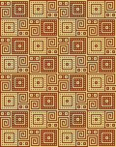 Tunisian Stitch Tunisian Stitch Pattern for blanket - Same pattern, tiled for an afghan. All Free Crochet, Crochet Chart, Filet Crochet, Knit Crochet, Knitting Charts, Knitting Stitches, Knitting Patterns, Needlepoint Patterns, Mosaic Patterns