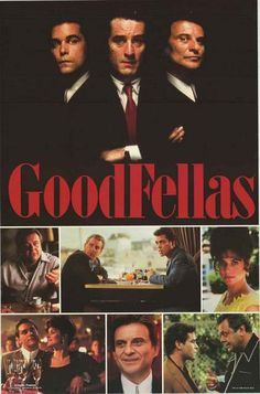 A great poster of scene shots from Martin Scorsese's epic mafia movie Goodfellas! Published in 1998. Fully licensed. Ships fast. 23x34 inches. Need Poster Mounts..?