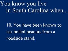 Love me some boiled peanuts!  We just stopped at one Sunday, coming home from the beach.
