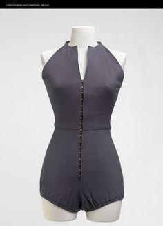 Jersey Swimsuit, Claire McCardell 1951. One of my favorite designers.