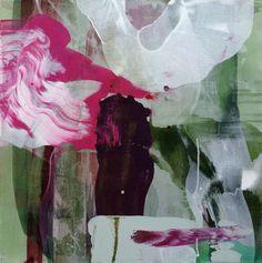 """""""Ninfea I"""", 70x70, akryl på lerret Kari Mette Wik"""