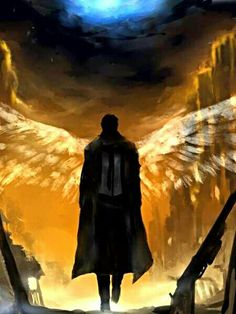 supernatural, castiel, angel, beautiful and drawing Angels Among Us, Angels And Demons, Fallen Angels, Guardian Angels, Supernatural Fans, Shadowhunters, John Constantine, Ange Demon, Destiel