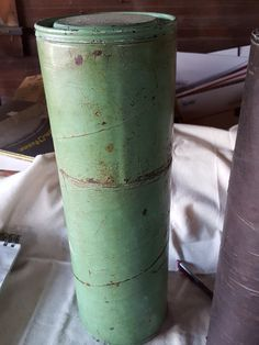 Antique Vintage 1960's 1970's Army 105 MM Case Tube Container Collectible Brass Shell Casing by ALONGWAYBACK on Etsy