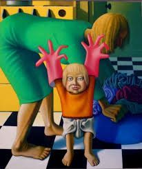 Sarah With Pink Gloves, 1962 by Michael Smither on Curiator, the world's biggest collaborative art collection. Still Life Artists, Pink Gloves, New Zealand Art, Digital Museum, Collaborative Art, Contemporary Artwork, Art Education, New Art, Cool Art