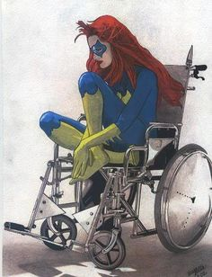 Barbara Gordon/Batgirl/Oracle - I cannot tell you how seeing her in the wheel chair moves me. Batgirl was my first superheroine, who all the superheroines after had to live up to. <3