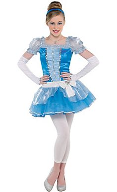 teen girls cinderella costume party city like if u want me 2 be this for halloween
