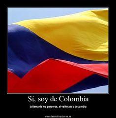 Orgullosamente COLOMBIANA! :)