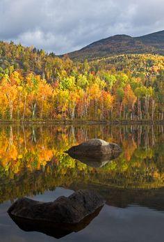 Adirondack Autumn (Round Pond, near Keene Valley, NY) by bnzai9