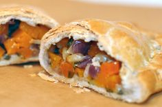 Butternut squash, sage & parmesan pasties. I would add sausage and then it would be even more perfect.