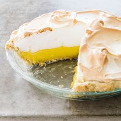 This is the ultimate lemon meringue pie: a crisp crust, a firm, lush filling, and a no-weep meringue.