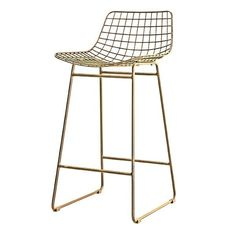HKliving wire barstool made in brass ✓Shipped the same day ✓Fast delivery ✓Safe payment (SSL) ✓30 day return policy