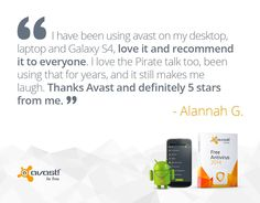 #AVAST users recommend our #security products