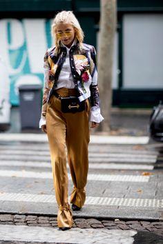 Streetstyle: первый день Недели высокой моды в Париже | Vogue Ukraine