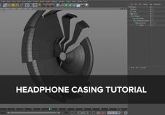 C4D - Headphones casing