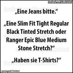 ...haben sie T-Shirts??? ☺☺☺