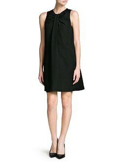 MANGO - NEW - Silk cotton-blend plumeti blouse