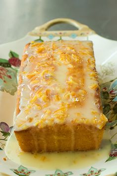 orange marmalade cake - ***I bet it would taste especially good with dried cranberries in it :)