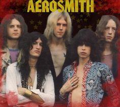 Aerosmith Early 70′s suilà il est pour JFC . vise un peu les tifs. Les merlans ont crevé la dalle dans les 70...