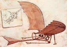 Global Gallery 'Flying Machine' by Leonardo Da Vinci Painting Print on Wrapped Canvas Vinci, Leonardo, Art Prints, Da Vinci Inventions, Leonardo Da Vinci, Davinci, Painting, Canvas Art, Framed Canvas Prints