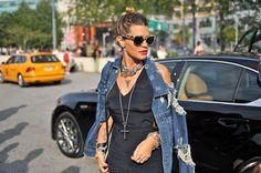 Jenné Lombardo at New York Fashion Week     #StreetStyle #Fashion #NYFW #NewYorkFashionWeek