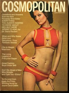 Cosmopolitan magazine, JUNE 1970 Model: Petra