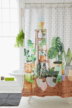 Achetez vite Rideau de douche Plant Dreams sur Urban Outfitters. Choisissez parmi les derniers modèles de marque en différents coloris dans les collections disponibles sur notre site.
