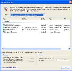 Web Browser, Management, Names, Image